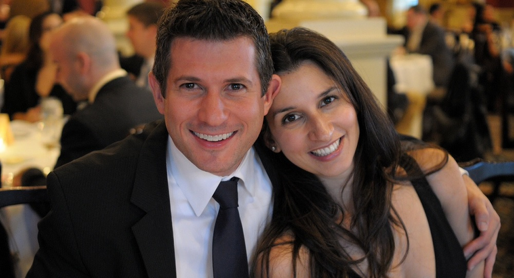 Jessica Rovello and Kenny Rosenblatt